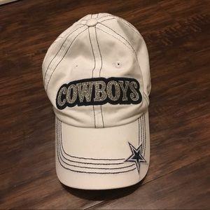 Dallas Cowboys Women's White Cap
